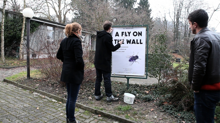 still: poster for a fly on the wall